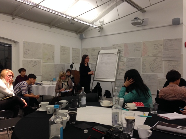 Negotiating Institutions Seminar: Tate Liverpool 13/12/14