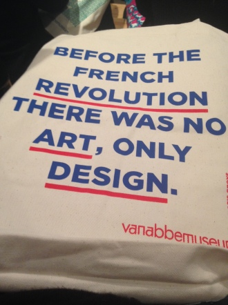 Van Abbemuseum Groys Quote Bag